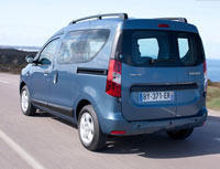 Kit film teinté Renault Dokker (1) 6 portes (depuis 2013)