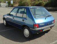 Kit film teinté Peugeot 205 (1) 5 portes (1983 - 1999) SDAG ADHÉSIFS