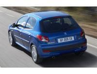 Kit film teinté Peugeot 206 (1) Plus 5 portes (2009 - 2016) SDAG ADHÉSIFS
