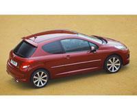 Kit film teinté Peugeot 207 3 portes (2006 - 2012) SDAG ADHÉSIFS