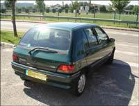 Kit film teinté Renault Clio (1) 5 portes (1990 - 1998) Variance Auto