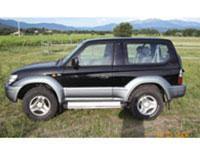 Kit film teinté Toyota Land Cruiser (9) 3 portes (1996 - 2003)