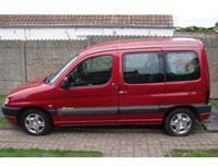 Kit film teinté Peugeot Partner (1) 6 portes (1996 - 2008) Variance Auto