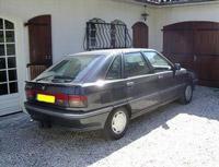 Kit film teinté Renault R 21 5 portes (1986 - 1995) Variance Auto