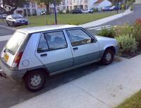 Kit film teinté Renault Super 5 5 portes (1984 - 1997) Variance Auto