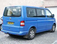 Kit film teinté Volkswagen Transporter T5 (5) Court 4 portes (2003 - 2015) Variance Auto