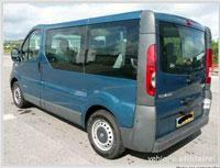 Kit film teinté Renault Trafic (2) Court 4 portes (2002 - 2015) Variance Auto