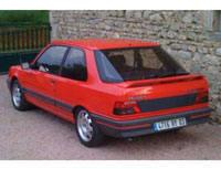 Kit film teinté Peugeot 309 (phase 2) 3 portes (1990 - 1994) SDAG ADHÉSIFS