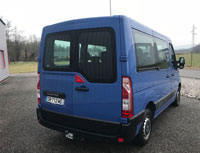 Kit film teinté Renault Master (3) L1 6 portes (depuis 2010) SDAG ADHÉSIFS