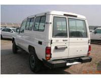 Kit film teinté Toyota Land Cruiser (7) Fourgon Break 2 Portes Arriéres 4 portes (1998 - 2010)