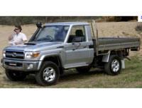 Kit film teinté Toyota Land Cruiser (7) Utility Pick-Up 2 portes (depuis 1998)