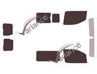 Kit film teinté Peugeot Expert (3) Standard / Long Utilitaire 5/6 portes (depuis 2016)