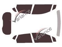 Kit complet Renault Captur 5 portes (depuis 2013) Variance Auto