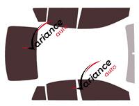 Kit film teinté Toyota Yaris (4) L 5 portes (depuis 2020)