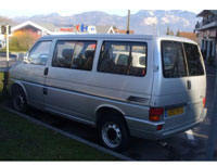 Kit film teinté Volkswagen Transporter T4 (4) Court 5 portes (1990 - 2003) Variance Auto