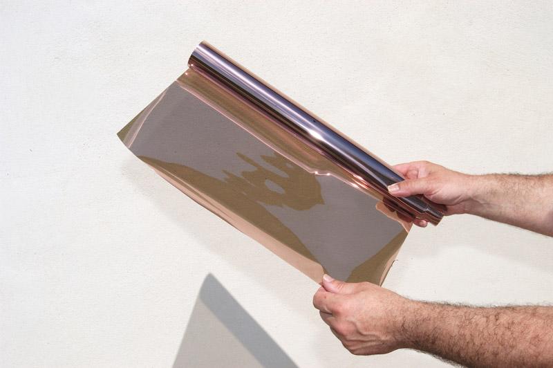 film anti vis vis proche miroir cuivre 80 variance store le sp cialiste du store sur mesure. Black Bedroom Furniture Sets. Home Design Ideas
